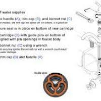 kitchen faucet installation instructions rasvodu net