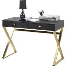 Black Desk And Chair Modern Writing Desks Allmodern