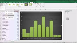 creating a histogram in microsoft excel 2016 youtube