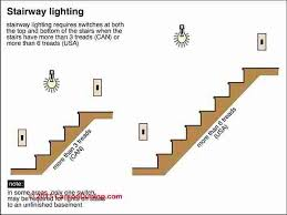 stair lighting guide to lighting requirements u0026 codes for stair