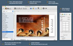 Best Business Card Creator Business Card Composer U2014 Advanced Business Card Maker For Mac