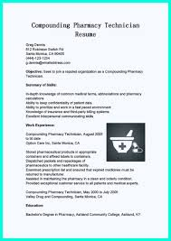 pharmacy technician resume awesome what objectives to mention in certified pharmacy technician