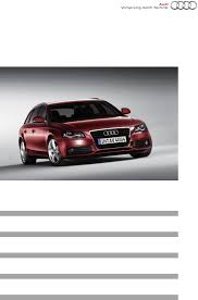 audi automobile a4 pdf user u0027s manual free download u0026 preview