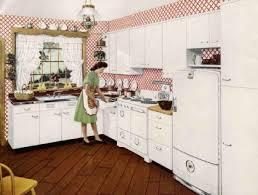 1940 homes interior retro kitchen design sets and ideas
