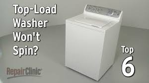 top load washer won u0027t spin u2014 washing machine troubleshooting youtube