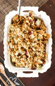 cranberry almond dressing semi oh so delicioso