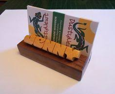 Desk Name Plates With Business Card Holder Desk Name Plate Business Card Holder Rosewood And Maple Woods