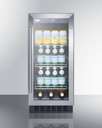 summit scr1536bg 15 inch built in beverage center with 2 45 cu ft