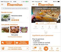 cuisine marmiton recettes application de recettes de cuisine laquelle choisir