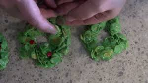 christmas wreaths corn flake cookies youtube