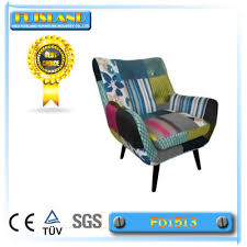 Armchair Cafe Colourful Lovely Fashion Patchwork Armchair Cafe Living Room