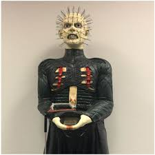 deluxe life size hellraiser pinhead prop mad about horror