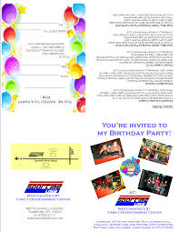 print invitations birthdays sportime usa