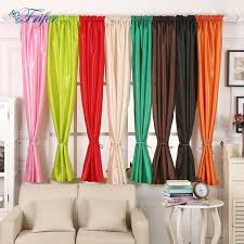 Multi Colored Curtains Drapes Silk Cloth Wedding Curtains Window Blinds Curtains Drape Panel