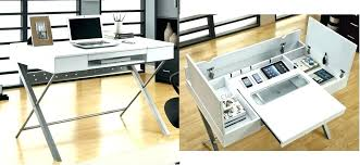 modern desk with storage small modern desk with storage large size of workspace with chic