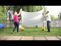 how to make outdoor movie screen outdoor screens and screens
