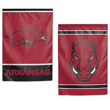 university of arkansas razorbacks 2 sided garden banner