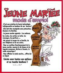texte felicitation mariage humour sur la mariee