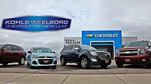 kw dealerships kohls weelborg chevrolet in new ulm mn serving fairmont