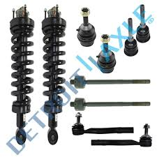 car suspension spring new 10 pc complete front suspension kit for town car crown
