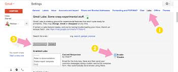 Set Up Business Email by How To Set Up Canned Email Responses In Gmail
