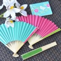 paper fans for weddings wedding favor fan paper fans wedding favors unlimited