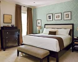 Master Bedroom With Accent Wall Wall Mounted Corner Brown - Bedroom accent wall colors