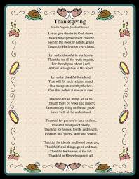 thanksgiving poem clipart clipartxtras