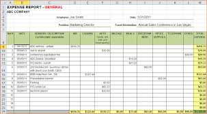 Excel Expense Tracking Template 6 Expense Report Template Excel Outline Templates