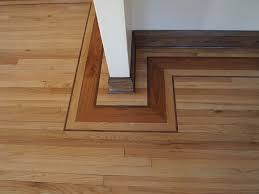 Hardwood Floor Borders Ideas Borders Vents Feature Strips And More Make Your Hardwood Floor