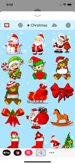 christmas stickers merry christmas stickers on the app store