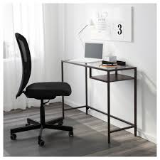 Ikea Small Desks Vittsjö Laptop Table Black Brown Glass Ikea