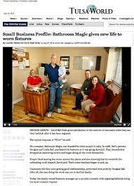 Bathtub Reglazing Tulsa Bathroom Magic Inc Reglazing Resurfacing And Refinishing Tulsa