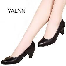 wedding shoes office aliexpress buy yalnn black women shoes pumps medium