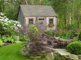 Suburban Backyard Landscaping Ideas by Triyae Com U003d Pictures Of Backyard Garden Sheds Various Design