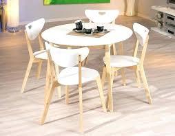 table de cuisine blanche table de cuisine avec rallonge table ronde pour cuisine