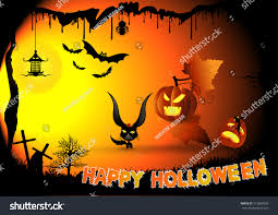 free halloween background border images halloween border designnight background creepy stock vector