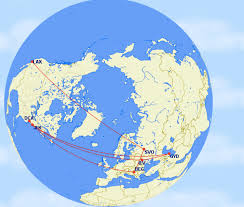 Allegiant Air Route Map by How To Make Flight Maps One Mile At A Time