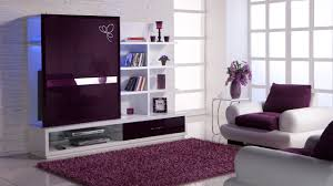 purple and grey living room chrome arc floor lamp white glass