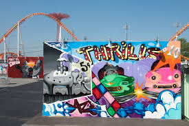 coney art walls return this weekend for the summer season curbed ny