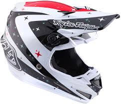 white motocross helmets troy lee designs se glove troy lee designs se4 twillight carbon
