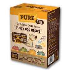 pure pet food dehydrated raw dog food chicken delicious 500g 2kg