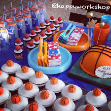 Basketball Themed Baby Shower Decorations Basketball Theme Birthday Party Stand Boy Party Themes