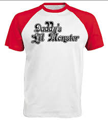 halloween t shirts for men daddy u0027s lil monster ladies t shirt harley quinn costume
