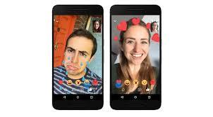 bikin video animasi snapchat video call via facebook messenger kini bisa pakai filter dan topeng