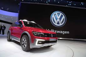volkswagen green volkswagen tiguan gte active concept off roading goes green