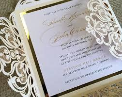 wedding invitations laser cut custom laser cut wedding invitation palm tree tropical