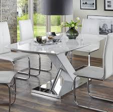 Esszimmer Design Uncategorized Esszimmersthle Modernes Design Weiss Beste Home