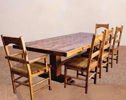 Mission Style Dining Room Furniture The Craftsman Style Dining Tables Solid Wood Dining Tables Gamble