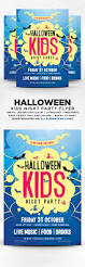 halloween kids party flyer by designblend graphicriver